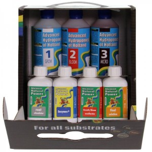 Advanced Hydroponics Dutch formula Starter Kit